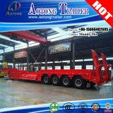 120 ton 4 het Lage Bed van Assen/Semi Aanhangwagen Lowboy