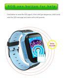 Het nieuwe Sos GPS van de Jonge geitjes van de Noodoproep Horloge van de Drijver (D26)