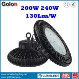 고품질 200W LED Luminaires가 중국 제조 공장 가격에 의하여 높은 만 200 와트 점화한다