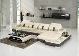 Mobilia del salone dell'Europa del cuoio bianco di G8015c