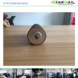 CNC personalizado da precisão do metal que faz à máquina com as peças do torno do CNC do eixo
