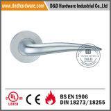 Maneta sólida del tubo de la palanca de los Ss 304 del hardware de la puerta