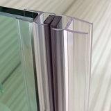 Porta de vidro do chuveiro ecossustentável à Prova de Água junta de PVC
