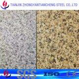 Покрасьте Coated золотистый алюминиевый лист с PVC в алюминии 5052