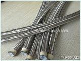 Pequeño Diámetro PTFE acero inoxidable trenzado de la manguera de la manguera de teflón R14