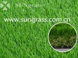 erba artificiale del giardino ad alta densità di paesaggio di 40mm (SUNQ-AL00074)