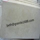 ベージュ大理石の平板およびタイル、中国の安いクリーム色ベージュ大理石の平板およびタイル