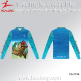 Clube de Pesca Personalizadas Healong Pesca Camisolas Camisas de Desgaste