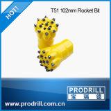 訓練のためのT51-102mmボタンビット