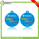 etiqueta dominante RFID Keyfob del hotel sin contacto de la viruta de 125kHz T5577