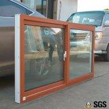 Ventana de desplazamiento colorida del perfil de la buena calidad UPVC, ventana de UPVC, ventana K02089