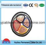 Bas cordon souterrain et fil de câble d'alimentation isolé par XLPE de tension
