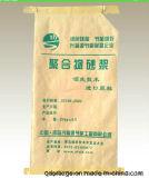Sac de papier tissé par pp estampé coloré de Papier d'emballage pour le produit chimique