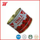 Commercio all'ingrosso inscatolato ed inserimento di Toamto del sacchetto con la marca di Yoli