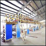 Caja de papel corrugado automático que hace la máquina