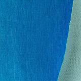 Tela tejida suavidad claramente 100% del poliester para la ropa y la guarnición