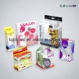 투명한 플라스틱 쇼핑 선물 포장 상자 인쇄