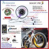 Bluetoothの魔法パイ5 500W-1000W電気自転車モーター、組み込みのプログラマブルコントローラ
