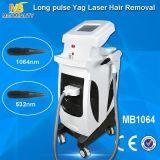 Долго импульсный ND YAG лазер для удаления волос машин (МБ1064)