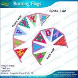 С Днем Рождения хлопчатобумажной ткани String флаги (A-NF11F06029)