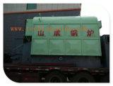 L'industrie Réseau-Râpent la chaudière à vapeur à charbon et la chaudière à eau chaude