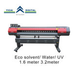 Van Yicai de Digitale van 1.6 Meter Oplosbare Inkjet Printer van Eco