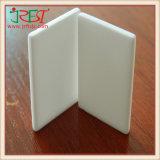 Alta temperatura y dureza, conductividad térmica de la placa de cerámica alúmina