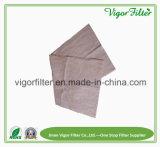 Media Pocket del filtro a sacco del materiale della fibra sintetica