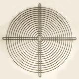 De chroom Geplateerde Mand van de Draad van het Metaal voor de Industriële Dekking van de Ventilator
