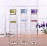 販売のための新しいデザイン美しい携帯用簡単なガラスビン