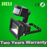 공장 판매 대리점 10W 인간적인 감응작용 LED 센서 투광램프