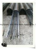 Brazo lateral de acero inoxidable tubo para la captura de resina