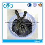 Sac d'ordures en plastique estampé par coutume chaude de vente