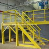 Fornecer alta resistência para perfil de plástico reforçado por fibra de vidro para o perfil profissional de Degraus de Escada Fornecedor