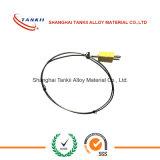 Alumel van het het thermokoppel gepantserde chroom van de kabel thermokoppeldraad
