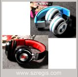 Écouteur stéréo de Bluetooth de musique de bandeau sans fil de haute fidélité de modèle avec la MIC