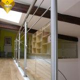 De Balustrade van het Glas van het roestvrij staal voor Balkon of Trap (jbd-B009)