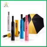 Parapluie de publicité promotionnel personnalisé de bouteille de vin d'impression de vente en gros de métier de cadeau avec le logo