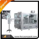 Machine de remplissage linéaire automatique de boissons de gaz