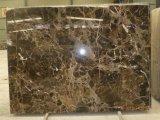 純粋か高貴なヒスイの白くか黒くまたは灰色またはブラウンの別荘またはアパートのための大理石の磨かれたか砥石で研がれたタイル/Slab /Step/Countertop