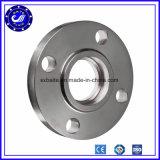 Flange de placa forjada do plano do aço do carbono do aço inoxidável SS304 SS316 A105 Q235