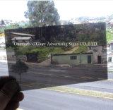 Folha acrílica de plástico transparente para placa de publicidade