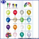 Grün Maß Perle Latex Printed Ballon mit Logo