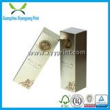 La coutume font le cadre de papier de bouteille de parfum de carton