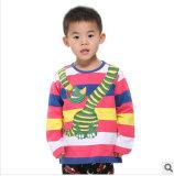 Commerce de gros 2014 l'usure pour les enfants de la bande de garçon T-Shirt à manches longues du commerce extérieur des vêtements pour enfants