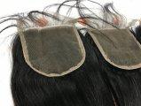 Chiusura superiore del merletto dei capelli umani