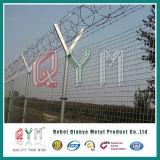 Barriera di sicurezza saldata della rete fissa della prigione della base militare 358 dell'aeroporto della rete fissa alta