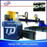 Машина кислородной резки плазмы CNC Gantry Китая сверхмощная для плиты листа нержавеющей стали медной отрезанной с машины