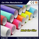 Coche brillante de los colores del vinilo auto-adhesivo que envuelve la película de la etiqueta engomada de la película del vinilo