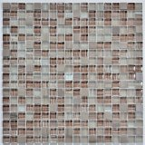 Mosaico do vidro 2017 de France e do projeto da mistura da pedra